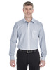 Navy / White - DG534 Devon & Jones Men's Crown Collection™ Striped Shirt