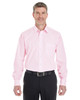 Pink / White - DG534 Devon & Jones Men's Crown Collection™ Striped Shirt