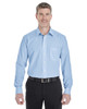 French Blue / White - DG534 Devon & Jones Men's Crown Collection™ Striped Shirt