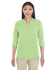 Lime - DP188W Devon & Jones Ladies' Perfect Fit™ Tailored Open Neckline Top