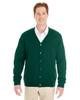 Hunter - M425 Harriton Men's Pilbloc™ V-Neck Button Cardigan Sweater