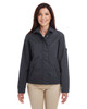 Dark Charcoal - M705W Harriton Ladies' Auxiliary Canvas Work Jacket