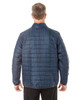Plaid - BACK - NE701 Ash City - North End Men's Portal Interactive Printed Packable Puffer Jacket | Blankclothing.ca