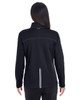 Black/Grey/Grey - BACK  - NE703W Ash City - North End Ladies' Endeavor Interactive Performance Fleece Jacket | Blankclothing.ca