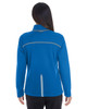 Blue/Graphite/Plate - BACK - NE703W Ash City - North End Ladies' Endeavor Interactive Performance Fleece Jacket | Blankclothing.ca