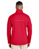 Classic Red - Back CE708 Ash City - Core 365 Men's Techno Lite Three-Layer Knit Tech-Shell Jacket | Blankclothing.ca