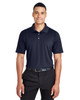 Navy - DG20T Devon & Jones Men's Tall CrownLux Performance™ Plaited Polo Shirt | Blankclothing.ca