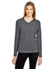 Sport Graphite - TT11WL Team 365 Ladies' Zone Performance Long-Sleeve T-Shirt