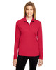Sport Red - TT31W Team 365 Ladies' Zone Performance Quarter-Zip Shirt