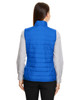 True Royal - CE702W Ash City - Core 365 Ladies' Prevail Packable Puffer Vest | Blankclothing.ca