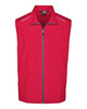 Classic Red - CE703 Ash City - Core 365 Men's Techno Lite Unlined Vest | Blankclothing.ca