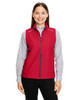 Classic Red - CE703W Ash City - Core 365 Ladies' Techno Lite Unlined Vest | Blankclothing.ca