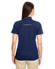 Classic Navy - Back 78181R Ash City - Core 365 Ladies' Radiant Performance Piqué Polo Shirt with Reflective Piping | Blankclothing.ca