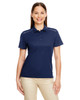 Classic Navy - 78181R Ash City - Core 365 Ladies' Radiant Performance Piqué Polo Shirt with Reflective Piping | Blankclothing.ca