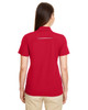 Classic Red - Back 78181R Ash City - Core 365 Ladies' Radiant Performance Piqué Polo Shirt with Reflective Piping | Blankclothing.ca
