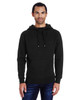 Black - 322H Threadfast Unisex Precision Fleece Hoodie | Blankclothing.ca