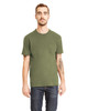 Military Green - 3605 Next Level Unisex Pocket Crew T-Shirt | Blankclothing.ca