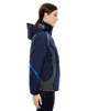 Night, Side - 78195 Ash City - North End Ladies' Height 3-in-1 Jacket with Insulated Liner | Blankclothing.ca