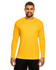 Sport Athletic Gold - TT11L Team 365 Men's Zone Performance Long Sleeve T-Shirt | BlankClothing.ca