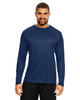 Sport Dark Navy - TT11L Team 365 Men's Zone Performance Long Sleeve T-Shirt | BlankClothing.ca
