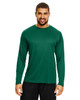 Sport Forest - TT11L Team 365 Men's Zone Performance Long Sleeve T-Shirt | BlankClothing.ca