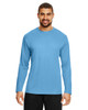 Sport Light Blue - TT11L Team 365 Men's Zone Performance Long Sleeve T-Shirt | BlankClothing.ca
