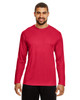 Sport Red - TT11L Team 365 Men's Zone Performance Long Sleeve T-Shirt | BlankClothing.ca