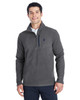 Polar/Frontier - 187332 Spyder Men's Transport Quarter-Zip Fleece Pullover | BlankClothing.ca