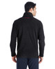 Black/Red, Back -  187332 Spyder Men's Transport Quarter-Zip Fleece Pullover | BlankClothing.ca
