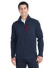Frontier/Red -  187332 Spyder Men's Transport Quarter-Zip Fleece Pullover | BlankClothing.ca