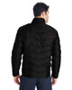Black/Red, Back - 187333 Spyder Men's Pelmo Insulated Puffer Jacket | BlankClothing.ca