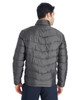Polar/Black, Back - 187333 Spyder Men's Pelmo Insulated Puffer Jacket | BlankClothing.ca
