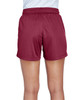 Sport Maroon - Back, TT11SHW Team 365 Ladies' Zone Performance Short | T-shirt.ca