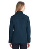 Frontire/Black, Back - 187337 Spyder Ladies' Transport Softshell Jacket | BlankClothing.ca