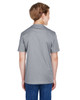 Athletic Heather - Back, TT11HY Team 365 Youth Sonic Heather Performance T-Shirt | BlankClothing.ca