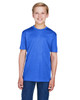 Sport Royal Heather - TT11HY Team 365 Youth Sonic Heather Performance T-Shirt | BlankClothing.ca