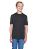 Black Heather - TT11HY Team 365 Youth Sonic Heather Performance T-Shirt | BlankClothing.ca