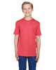 Sport Red Heather - TT11HY Team 365 Youth Sonic Heather Performance T-Shirt | BlankClothing.ca