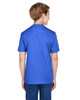Sport Royal Heather - Back, TT11HY Team 365 Youth Sonic Heather Performance T-Shirt | BlankClothing.ca