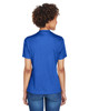 Sport Royal Heather - Back, TT11HW Team 365 Ladies' Sonic Heather Performance T-Shirt | BlankClothing.ca