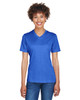 Sport Royal Heather - TT11HW Team 365 Ladies' Sonic Heather Performance T-Shirt | BlankClothing.ca