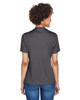 Dark Grey Heather - Back, TT11HW Team 365 Ladies' Sonic Heather Performance T-Shirt | BlankClothing.ca