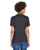 Black Heather, Back - TT11HW Team 365 Ladies' Sonic Heather Performance T-Shirt | BlankClothing.ca