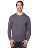 Graphite - 100LS Threadfast Unisex Ultimate Long-Sleeve T-Shirt | T-shirt.ca