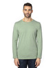 Army Heather - 100LS Threadfast Unisex Ultimate Long-Sleeve T-Shirt | T-shirt.ca