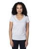 Silver - 200RV Threadfast Ladies' Ultimate Short-Sleeve V-Neck T-Shirt | BlankClothing.ca