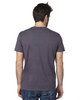 Graphite  - Back, 100A Threadfast Unisex Ultimate Short-Sleeve T-Shirt | BlankClothing.ca