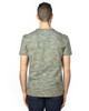 Green Hex Camo - Back, 100A Threadfast Unisex Ultimate Short-Sleeve T-Shirt | BlankClothing.ca