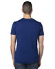 Navy - Back, 100A Threadfast Unisex Ultimate Short-Sleeve T-Shirt | BlankClothing.ca