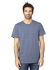 Navy Heather - 100A Threadfast Unisex Ultimate Short-Sleeve T-Shirt | BlankClothing.ca